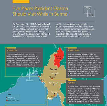 Five Places President Obama Should Visit While in Burma
