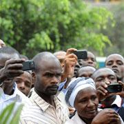 Kenyans Record on Mobile Phones