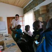 Police Officers at Minova Training