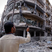 Documenting with a Mobile Phone in Syria