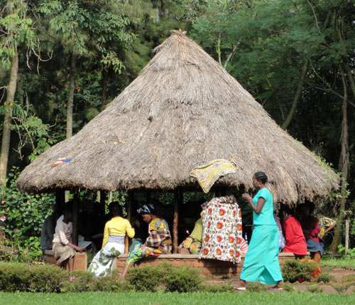 Women's recovery group, Panzi Hospital, DRC