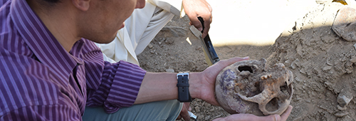 Afghanistan grave exhumation summer 2016